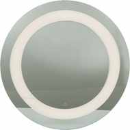 Access 70085LEDD-MIR Spa Modern Mirror & Frosted Glass LED Vanity Light Fixture