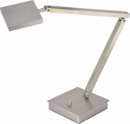 Access 72005LEDD-BS TaskWerx Modern Brushed Steel LED Task Lamp