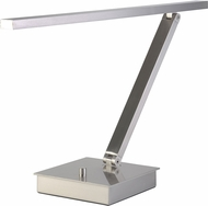 Access 72006LEDD-BS TaskWerx Modern Chrome LED Study Lamp