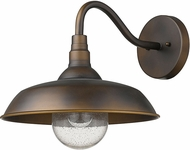 Acclaim Lighting 1742ORB Burry Oil-Rubbed Bronze Exterior Wall Light Sconce