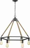 Acclaim Lighting IN10055AGY Holden Contemporary Antique Gray Chandelier Light