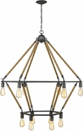 Acclaim Lighting IN10056AGY Holden Contemporary Antique Gray Chandelier Lighting
