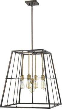 Acclaim Lighting IN21052ORB Charley Contemporary Oil-Rubbed Bronze 22  Hanging Pendant Lighting