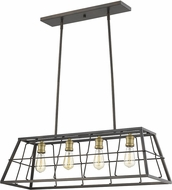 Acclaim Lighting IN21053ORB Charley Modern Oil-Rubbed Bronze Kitchen Island Light Fixture