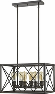 Acclaim Lighting IN21125ORB Brooklyn Oil-Rubbed Bronze Pendant Hanging Light