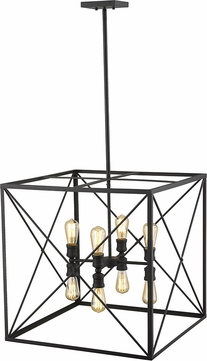 Acclaim Lighting IN21126BK Brooklyn Matte Black Foyer Lighting