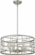 Acclaim Lighting IN21132AS Amoret Antique Silver 20  Convertible Drop Lighting Fixture