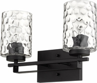 Acclaim Lighting IN40011BK Livvy Matte Black 2-Light Bathroom Lighting