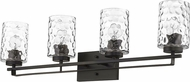 Acclaim Lighting IN40013ORB Livvy Oil-Rubbed Bronze 4-Light Bath Light Fixture