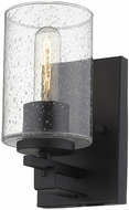 Acclaim Lighting IN41100BK Orella Contemporary Matte Black Wall Light Sconce