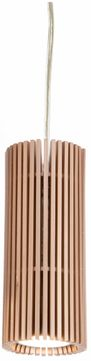Accord Lighting 1275 Stecche Di Legno Contemporary Imbuia Mini Hanging Pendant Light