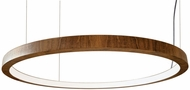 Accord Lighting 1320L Frame Contemporary Imbuia LED 39  Lighting Pendant