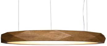 Accord Lighting 1356L Faceted Contemporary Louro Freij? LED 39 Pendant Hanging Light