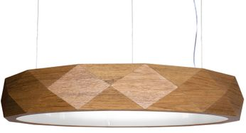 Accord Lighting 1357L Faceted Contemporary Louro Freij? LED 23 Hanging Light Fixture