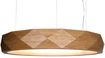 Accord Lighting 1359L Faceted Contemporary Louro Freij? LED 39 Drop Ceiling Lighting