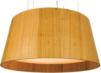 Accord Lighting 258 Conical Imbuia 39  Pendant Lamp