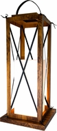 Accord Lighting 3011 Lantern Imbuia 14  Lighting Floor Lamp