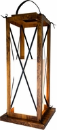 Accord Lighting 3012 Lantern Imbuia 18  Floor Lamp
