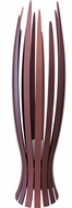 Accord Lighting 368 Slatted Contemporary Imbuia Floor Lamp Light