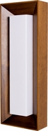 Accord Lighting 403 Miter Joint Imbuia Wall Sconce