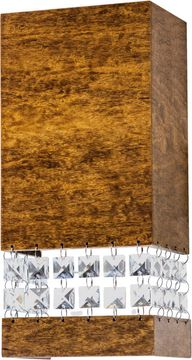 Accord Lighting 4047CL Crystals Imbuia LED 4 Wall Sconce