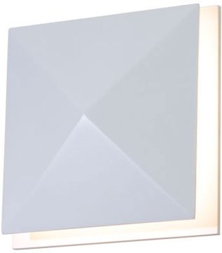 Accord Lighting 4064L Faceted Modern Imbuia LED Wall Sconce Light
