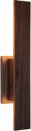 Accord Lighting 4132 Clean Contemporary Imbuia Wall Sconce Lighting
