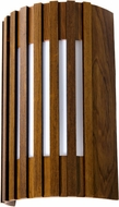 Accord Lighting 420L Slatted Wall Lamp 420 LED Imbuia LED Wall Sconce Lighting