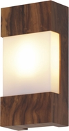 Accord Lighting 428L Clean Imbuia LED Wall Light Sconce