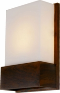 Accord Lighting 444L Clean Imbuia LED Wall Sconce Light