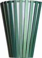 Accord Lighting 456L Slatted Imbuia LED Lighting Wall Sconce