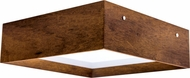 Accord Lighting 493L Miter Joint Imbuia LED 20 Ceiling Lighting Fixture