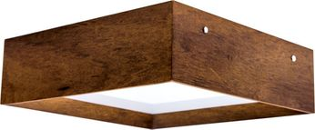 Accord Lighting 494 Miter Joint Imbuia 16 Ceiling Light Fixture