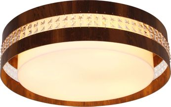 Accord Lighting 5025CL Crystals Imbuia LED 20 Ceiling Light Fixture