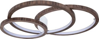 Accord Lighting 5085L Frame Contemporary American Walnut LED 38 Ceiling Light Fixture