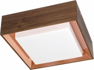 Accord Lighting 584COL Miter Joint Imbuia LED 23 Flush Ceiling Light Fixture