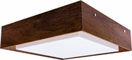 Accord Lighting 587L Miter Joint Imbuia LED 16 Ceiling Lighting Fixture