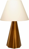 Accord Lighting 7031 Faceted Imbuia Table Light