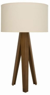 Accord Lighting 7037S Clean Contemporary Imbuia Table Lamp Lighting