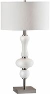Adesso 1553-22 Natalie Brushed Steel Table Top Lamp