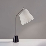 Adesso 4193-22 Dempsey Modern Brushed Steel Reading Lamp
