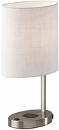 Adesso 4223-22 Curtis Modern Brushed Steel Table Light