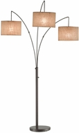 Adesso 4238-26 Trinity Contemporary Antique Bronze Lighting Floor Lamp