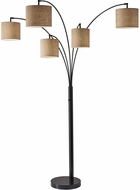 Adesso 4239-26 Trinity Modern Antique Bronze Floor Light