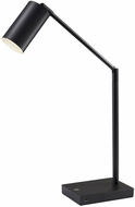 Adesso 4274-01 Colby Contemporary Black Painted Metal LED Study Lamp