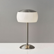 Adesso 5002-22 Jessica Contemporary Brushed Steel Lighting Table Lamp