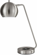 Adesso 5131-22 Emerson Contemporary Brushed Steel Task Lighting