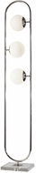 Adesso 5176-22 Sabrina Modern Polished Nickel Floor Lamp