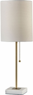 Adesso 5177-21 Fiona Antique Brass Side Table Lamp