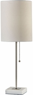 Adesso 5177-22 Fiona Brushed Steel Table Lamp